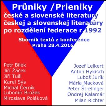 Průniky české a slovenské literatury po rozdělení federace v r.1992