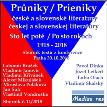 Průniky české a slovenské literatury II.